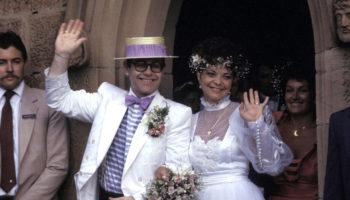 Подробности первой свадьбы сэра Элтона Джона: неожиданное предзнаменование