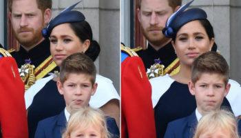 Неловкий момент общения Гарри и Меган: наблюдение королевских фанатов