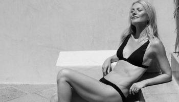 Гвинет Пэлтроу рекламирует новое бикини