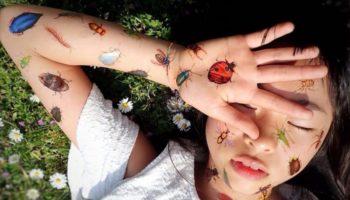 Самый юный тату-мастер в мире: японская художница Ноко Нишигаки