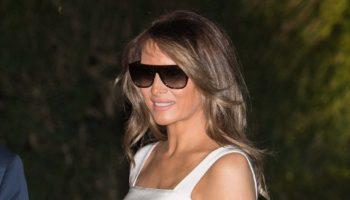 Модный психолог объясняет, почему Мелания Трамп носит солнцезащитные очки даже ночью